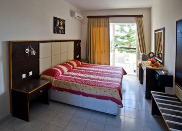 Facilities of George Beach Studios Hotel in Pefki, Pefkos, Rhodes, Greece